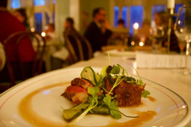 Säsongin kevätravintola Vårissa tarjoiltiin muun muassa jämsäläistä lammasta.