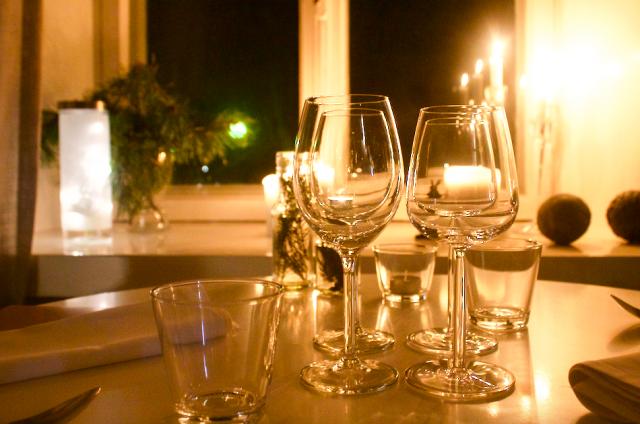 Vinterin talvi-illallinen nautittiin tunnelmallisessa Lapinlahdessa.