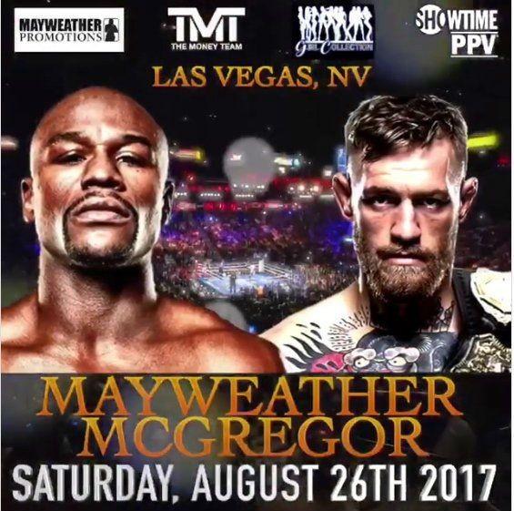 Megaottelu Mayweather vs. McGregor 26.7.2017