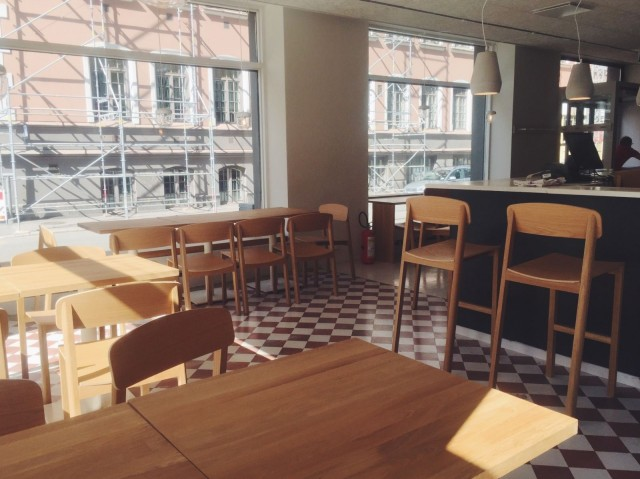 Huonekalut on tilattu salolaiselta yritykseltä.