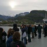 Lofooteille pääsee laivalla esim Bodøstä. Turisteja riittää.