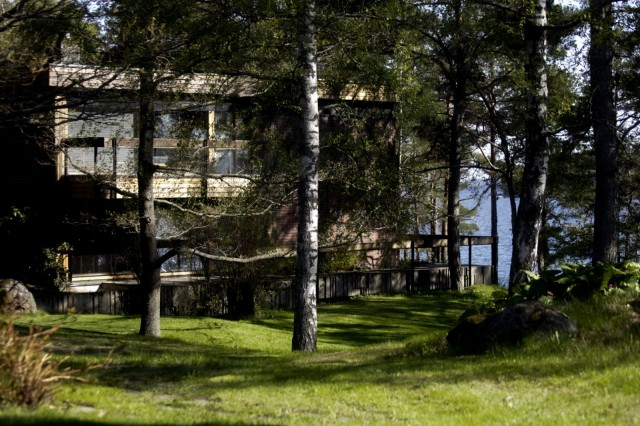 Hotelli Rantapuiston piha-alue