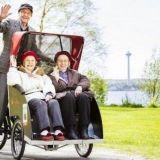 Tue yhteistä kaupunkia! –Senioreita kyyditsevä kyläpyörä hakee joukkorahoitusta