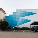 Lahtikin täyttyy muraaleista – seuraavana vuorossa abstraktia muotoa