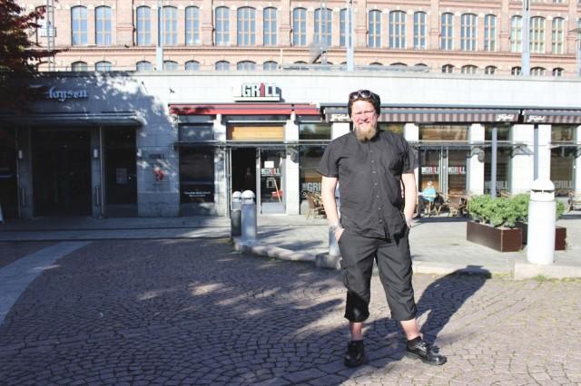 Purpur avataan loppusyksystä The Grill -ravintolan paikalle.