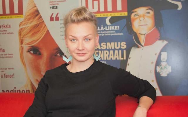 Anni Saastamoinen.