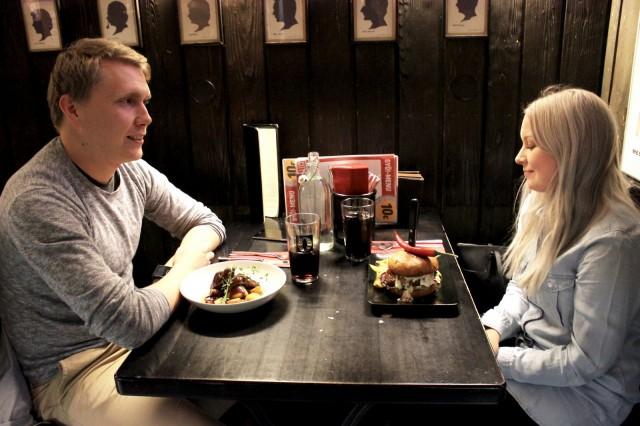 Tamperelaiset Jani ja Marika ovat ruokailleet SYÖ!-viikoilla niin uusissa kuin tutuissakin ravintoloissa.