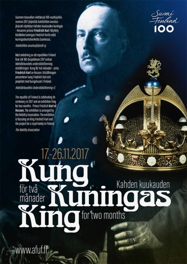 Suomi100-näyttely: Kahden kuukauden kuningas 17.-26.11.2017