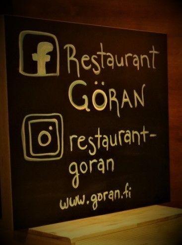 #restaurantgöran
