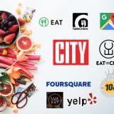 Maailmalta löytyy hakukoneita. Vain 2 näistä on alustataloudessa. City Digitalin EatAndTheCity sekä Google.