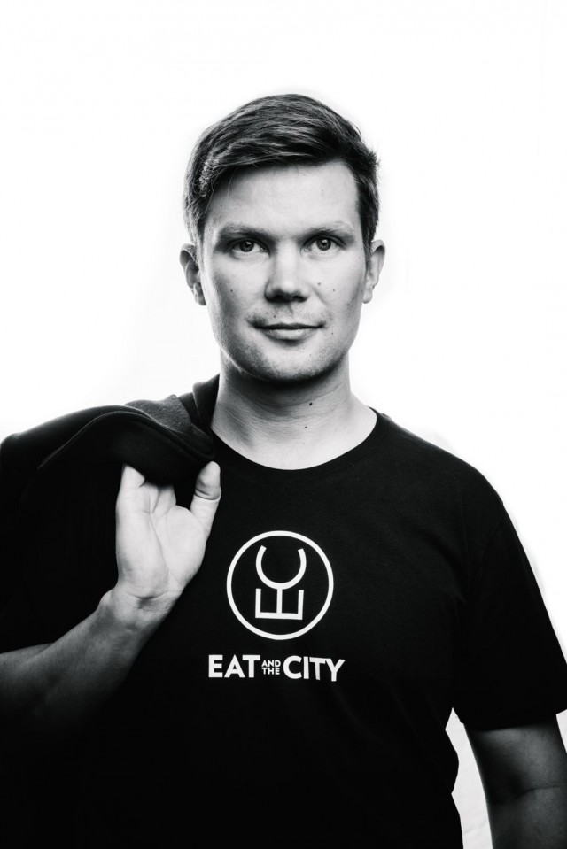 Ilkka Lavas, EatAndTheCity ready for Slush17