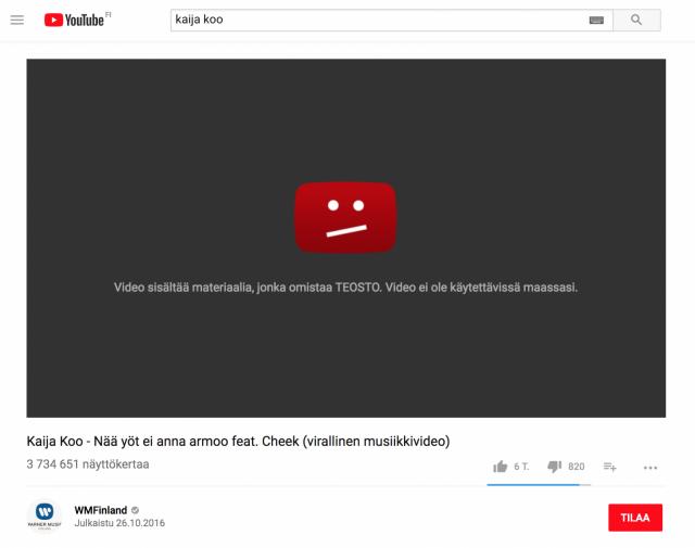 Youtube Suomalaista Musiikkia