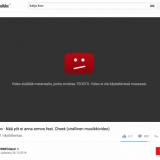 Youtube ja Teosto riidassa – suuri osa suomalaista musiikkia vedettiin pois Youtubesta