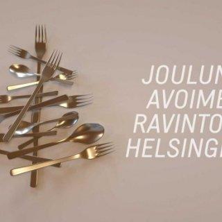 Jouluna auki olevat ravintolat Helsingissä