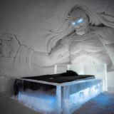 Kittilään avattiin jäästä ja lumesta rakennettu Game of Thrones -hotelli