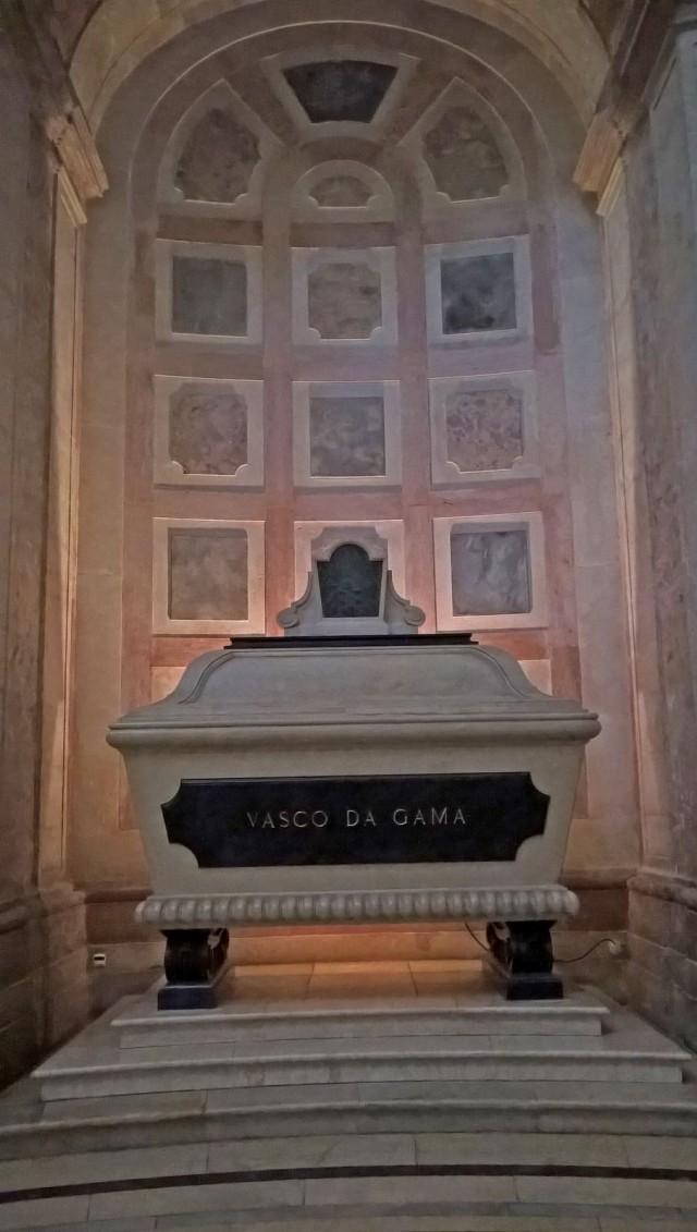 Vasco da Gaman hautamuistomerkki Lissabonissa