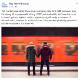 LGBT-myönteiset yritykset menestyvät kilpailijoitaan paremmin