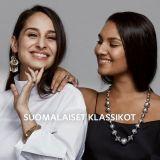 Ylen toimittajat Kalevala Korun klassikkokampanjan kasvoina