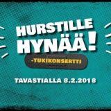 Hurstille Hynää! -tukikonsertti kuullaan Tavastialla