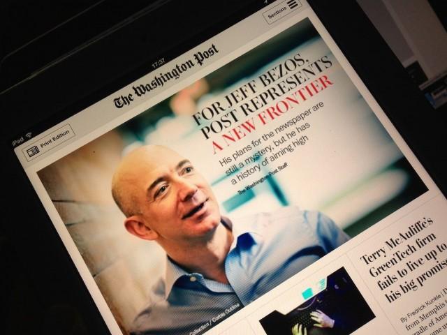 Jeff Bezos osti ensin Washington Postin, sitten Whole Foodsin. Älykäs media yhdistää lukijoita ja kulutustottumuksia yhdeksi käyttökokemukseksi.