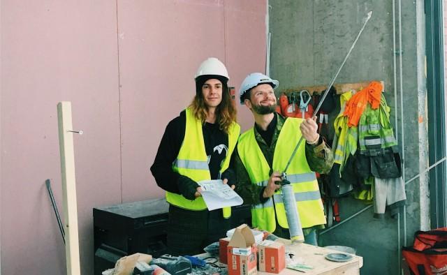 Richard McCormick ja Ville Relander avaavat viidennen Sandronsa Tampereelle huhtikuussa.