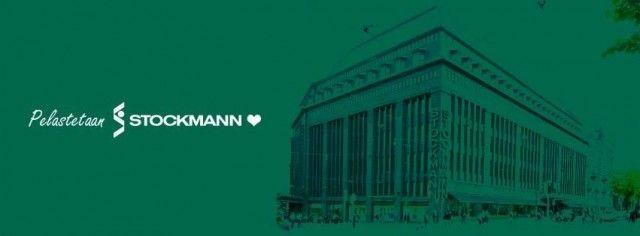 Stockmann sai joukon Facebook-pelastajia vuonna 2014. Pelastetaan Stocka -logo - Jukka Aminoff - 2014