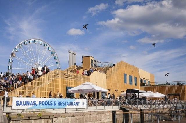 Allas Sea Pool toimii tapahtumapaikkana lukuisille kesäkonserteille.
