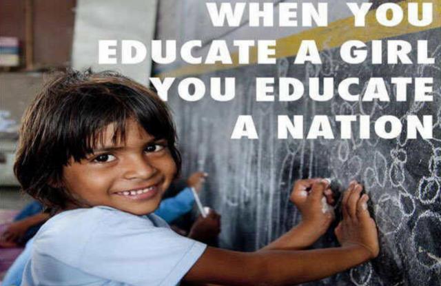 Unicef: kun koulutat tyttöjä, koulutat koko kansaa