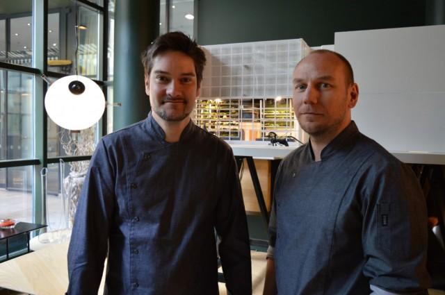 Henri Alén ja Tommi Tuominen avaavat uuden ravintolansa 15. toukokuuta.