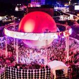Flow Festivalin maamerkki Balloon 360° -lava sai jälleen arvoisensa livekattauksen