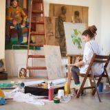 Kaipaatko väriä elämääsi? Opettele maalaamaan ihanan Bob Rossin kanssa