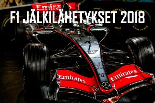 Formula 1 jälkilähetykset 2018