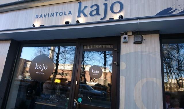 Ravintola Kajo aukeaa Tampereen rautatienkadulle 18.4.
