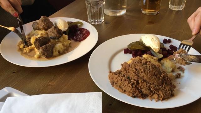 Kustaa Vaasassa on tarjolla lihapullia sekä Mannerheimin lempiruokaa, vorschmackia.