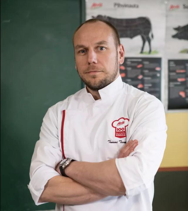 Tommi Tuominen aloittaa Atria 100 Nuorta Kokkia koulutusohjelman johtajana.