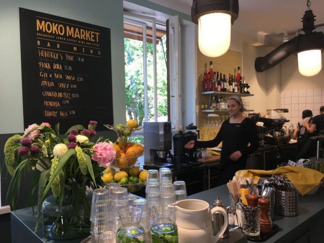 Moko Marketista saa myös raikkaita cocktaileja.