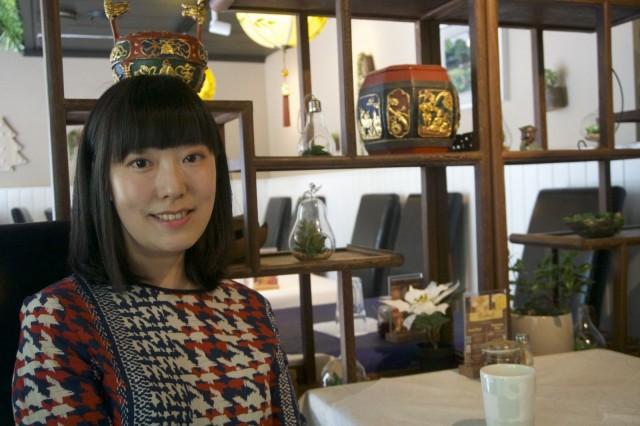 Zheng He on tuonut suuren osan sisustuselementeistä kotikaupungistaan Chengdusta.