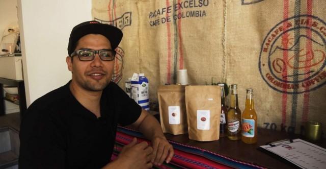 Felipe Sarmienton kahvilasta saa myös viinejä ja oluita.
