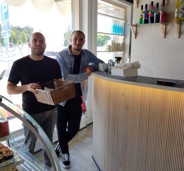 Brygga on Selim Hyseinin ja Fatos Elshanin ensimmäinen oma ravintola.