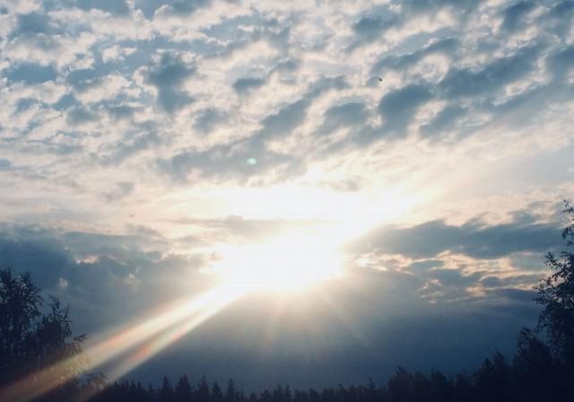Jokainen uusi aamu, on uusi mahdollisuus. Kyse on vain tästä päivästä.