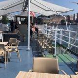 Ravintolalaiva Verna on uusin tulokas Hietalahden terassikeskittymässä