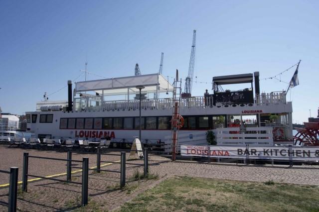 M/S Louisiana on 36-metrinen täysin merikelpoinen siipirataslaiva.