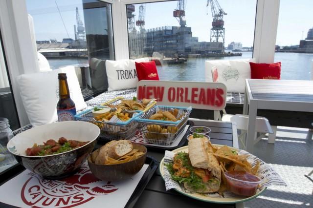 New Orleans näkyy myös ruokalistalla.