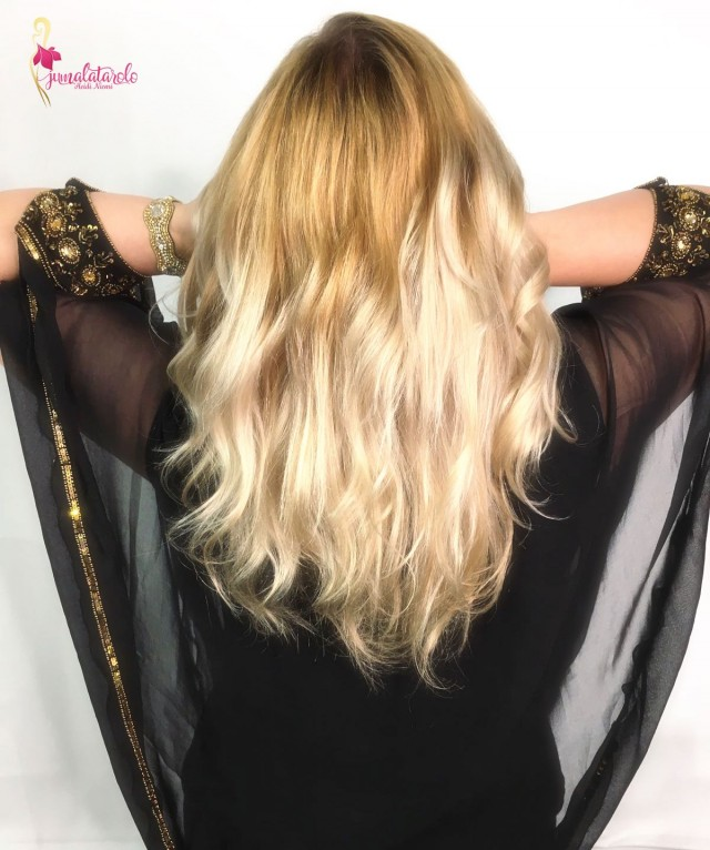 Olaplex-hoidetut hiukseni
