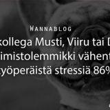 Uusi kollega Musti, Viiru tai Dory – toimistolemmikki vähentää työperäistä stressiä 86 %