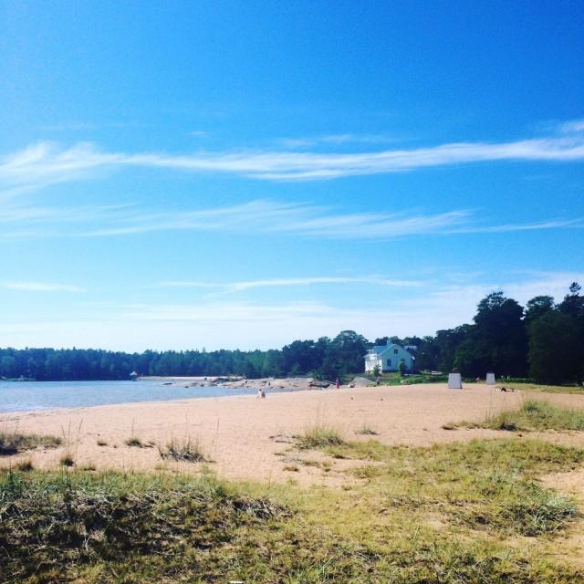 Hankoa on ylistetty upeista rannoista, mutta jotkin hiekkarannat kasvavat parhaillaan umpeen.