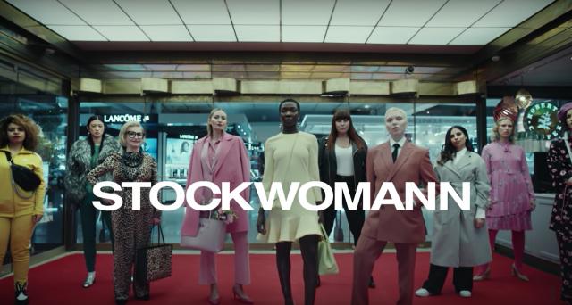 Stockwomann-kampanja lanseerattiin näyttävästi kevään 2018 aikana.