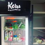 Kaikille avoin hävikkiruokaa tarjoileva jääkaappi sai paikkansa Kalliossa