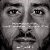 Onko Niken Kaepernick-kampanja noussut yhtä legendaariseksi kuin Applen kampanja vuodelta 1984?