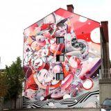 UPEA18 tuo taas muraalien värit ympäri Suomen suuria seiniä – optista illuusiota Salossa, fotorealismia Espoossa, surrealismia Kotkassa ja moniulotteisuutta Iisalmella